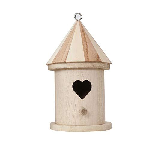 Nrkin Vogelwelt Futterhaus und Vogelbad, Vogelhaus geeignet für Kleinsingvögel, Ganzjahresnutzung