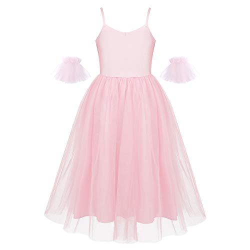 inhzoy - Vestido de Baile de Baile de Princesa, Estilo romántico, Falda Larga con Mangas de Volantes
