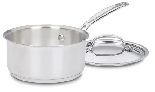 Cuisinart 719-14 Chef's Classic Stainless 1-Quart Saucepan with Cover