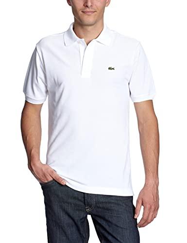 Lacoste L1212, Polo Homme, Blanc, M
