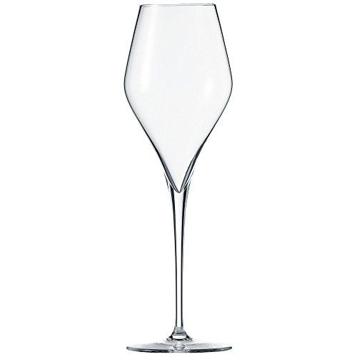 Schott Zwiesel Finesse 6-teiliges Champagnerglas Set Champagneflûte, Kristalglas met Tritan beschermlaag, Transparente, 7.5 cm, 6