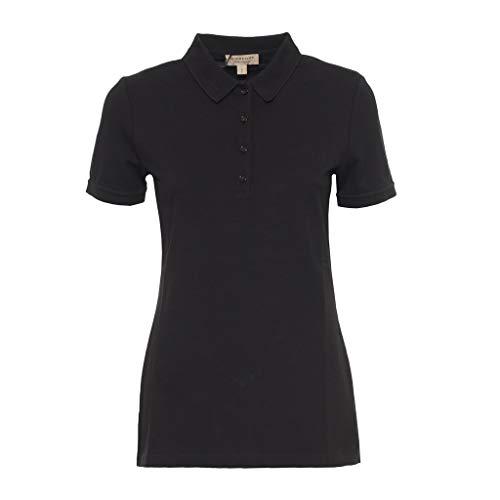 BURBERRY Damen Poloshirt schwarz Größe Small