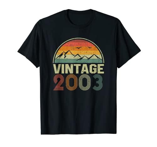 Classic 18th Birthday Gift Idea Vintage 2003 T-Shirt
