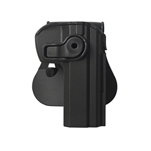IMI-Z1330 RETENTION HOLSTER CZ75 COMPACT BLACK RIGHT HANDED