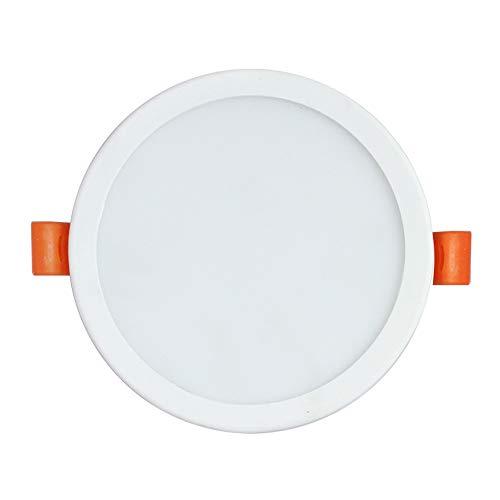 GLBS 6W/8W/15W/20W Ultra-dünne Runde Weiße Einbauleuchten Wohnzimmer Adjustable Loch-Größe LED Down Aluminium Home Use Gewerbe Deckenverkleidung-Licht (Color : 20W, Size : Warm Light 3000K)