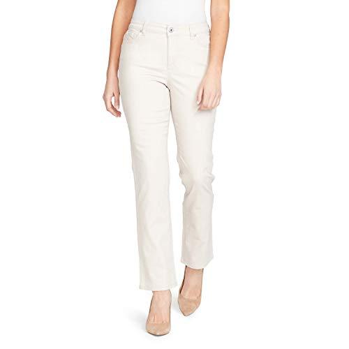 Bandolino Women's Mandie 5 Pocket Jean, Creamstone, 6 Short