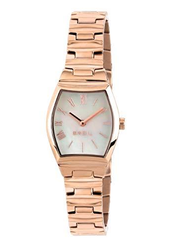 Orologio BREIL donna BARREL quadrante bianco e bracciale in acciaio rose gold, movimento SOLO TEMPO - 2H QUARZO