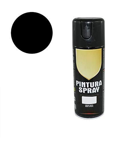 8576 Pintura Spray Negro Mate 400 Ml
