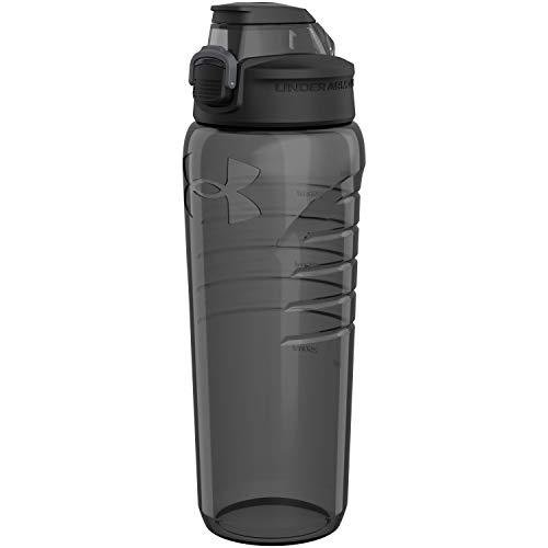 Under Armour Botella de agua de 24 onzas, cubierta de tapa profesional, a prueba de roturas, resistente a manchas y olores