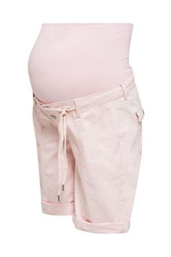 Esprit Maternity Shorts OTB Pantaloncini Premaman, Rosa (Light Pink 690), 50 (Taglia Unica: 44) Donna
