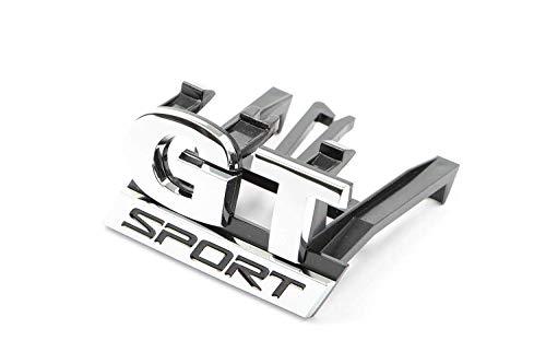 Original Volkswagen VW parte de repuesto Letras GT Sport Clip insignia para parrilla de ventilación (GT Sport)