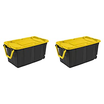 Best storage totes with wheels Reviews