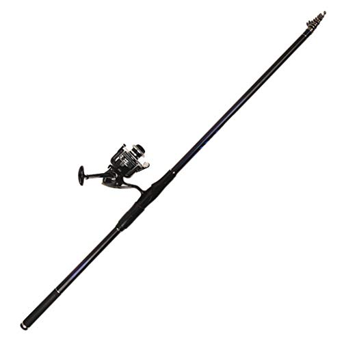 NYKK Angelruten-Kit Rocky Angelrutencarbon Rocky Rod Super Hard and Light Sea Rod Angelrute Hand und Meer Dual-Use-Anzug Teleskop-Angelrute (Size : 5.4 Meters)