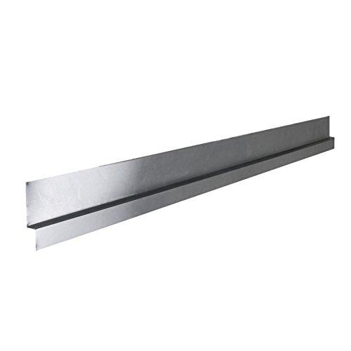 """Tile Redi USA TRZF3260-BI Shower Flashing, Fits All Tile 32"""" x 60"""" Pans, Silver"""