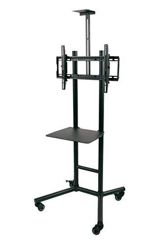 Atlantic Mobile TV Cart for Mobile TV viewing & Video Conferencing, for 32 Inch - 70 Inch flat-panel TVs, PN63607125