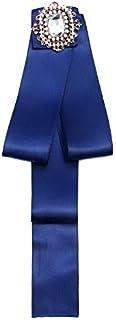 CBCJU Accesorios Vintage de la Camisa del Boutonate de la Corbata de Lazo del Estilo de la Universidad británica 28 * 4cm