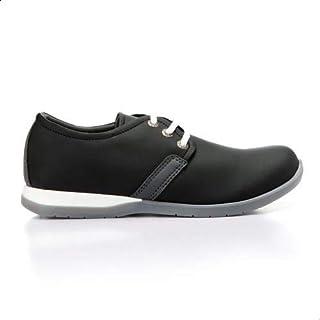 Roadwalker Faux Leather Two Tone Sole Lace-up Shoes for Men