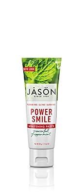 Jason, Antiplaque Whitening Smile Toothpaste Powder, 3 Ounce