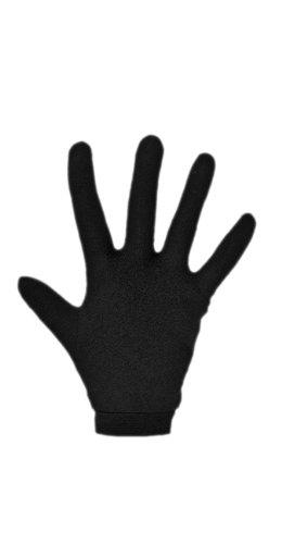 Racer LD600 Unterziehhandschuhe aus Seide, Schwarz, Größe L
