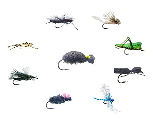 Panfish Flies Fly Kit II- Bass, Bluegill & Crappie Flies