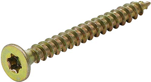 Kraftmann 80993 | Mehrzweckschrauben | T-Profil (für Torx) T10 | 3,5 x 35 mm | 200 Stück