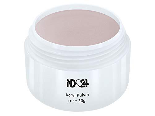 Acryl Pulver Rose - Feinstes Puder Powder - Studio Qualität - 30g