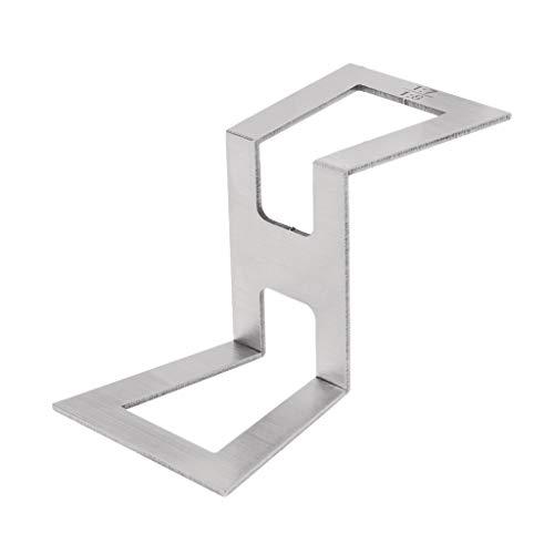 Dovetail - Plantilla para marcar cola de milano (acero inoxidable, tamaño 1:5-1:6 y 1:7-1:8)