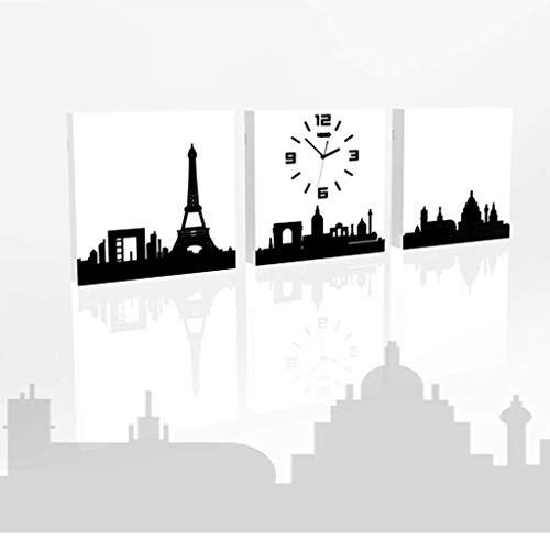 Style européen Horloge Créative Horloge Murale Salon Personnalité Créatrice De Mode Moderne Simple Montre Murale Décoration Horloge Ménagère Atmosphère