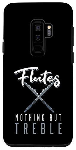 Galaxy S9+ Vintage Flutes Nothing But Treble Musical Instrument Flute Case