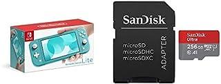Nintendo Switch Lite ターコイズ+サンディスク microSD 256GB