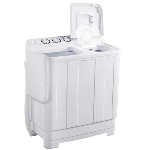 Frifer Portable Twin Tub Washing Machine, Compact Mini...