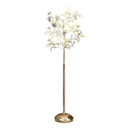 GWXSST Simple de la lámpara de Cristal lámpara de pie Lámpara de pie Forma Creativa Habitación Sala lámpara Decorativa