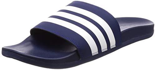 adidas Herren Adilette Comfort Dusch- & Badeschuhe, Blau (Azuosc/Ftwbla/Azuosc 000), 44.5 EU