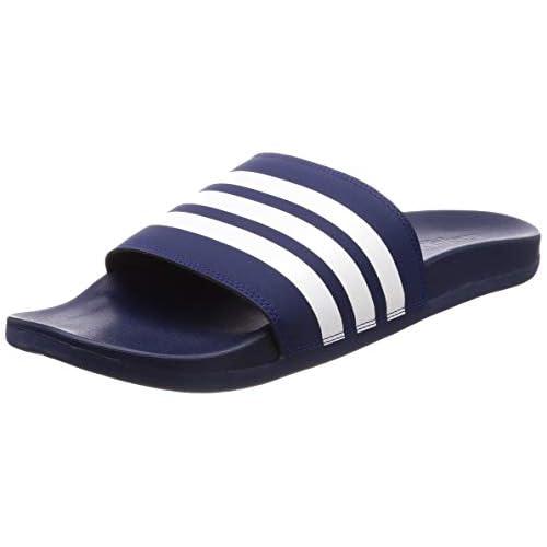 adidas Adilette Comfort, Scarpe da Spiaggia e Piscina Bambino, Blu (Azul 000), 36.5 EU
