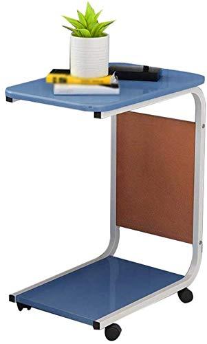 HGJINFANF Armario Lateral Tabla Creativa pequeña de Almacenamiento de Comidas Armario Lateral del sofá del Dormitorio Estante de Mesa de café extraíble (Color : C)