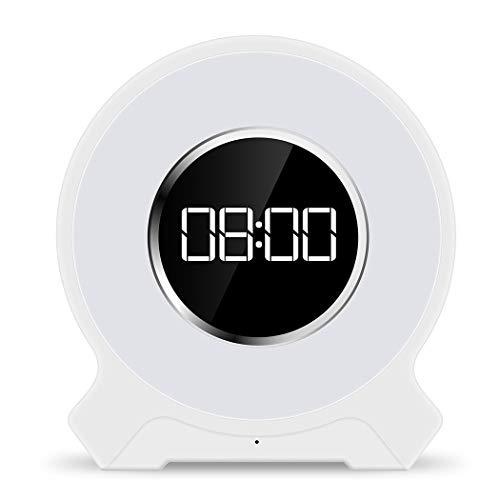 QAR met wekkerfunctie Bluetooth audio-tafellamp elektronische home-office audio