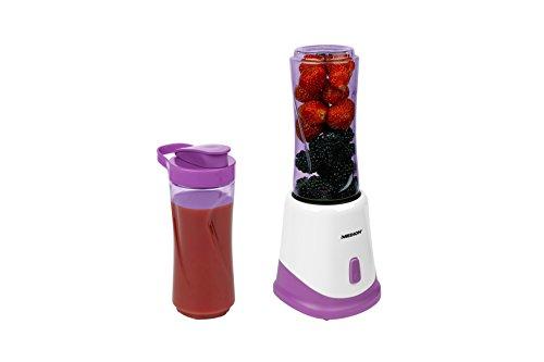 MEDION MD 18044Standmixer 400L 175W Pink, Weiß–Mixer (Standmixer, 400l, pink, weiß, 1m, Edelstahl, Acrylnitril-Butadien-Styrol (ABS))