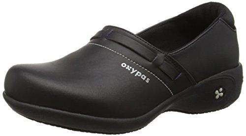 Oxypas Lucia, Zapatos de seguridad para Mujer, Negro (Black Blk), 3.5 UK (36 EU)