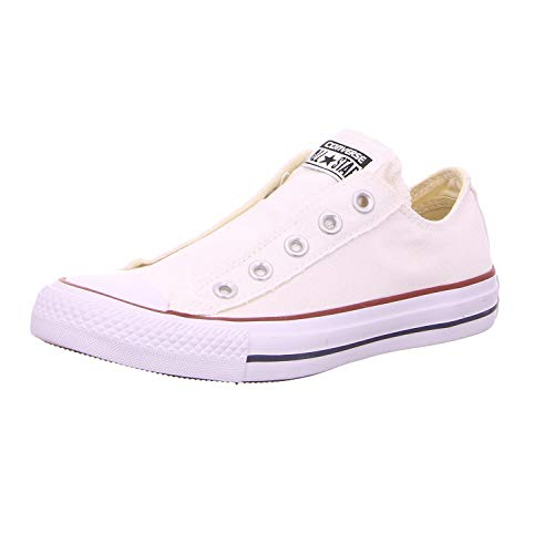 Converse Chucks - CT AS Slip 1V018 - Optical White, Schuhgröße:37.5