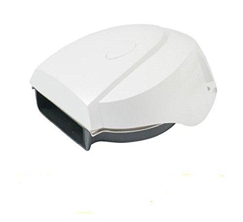 AFI 10099 MiniBlast Marine Compact Deck Electric Horn (White)