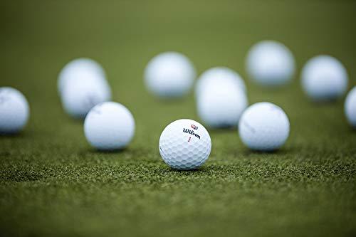 Wilson Staff DUO Golf Ball, Soft +, White