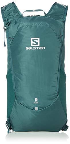 Salomon, Leichter Rucksack, Für Wandern oder Radfahren, 10L, TRAILBLAZER 10, Petrol...