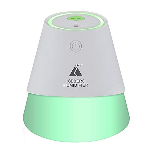 Humidificador USB para coche, 230 ml, difusor de coche portátil, humidificador de niebla, desconexión automática sin agua para viajes en la oficina en casa