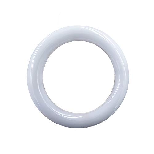LED T9 Circline Light Bulb, 8 Inch LED Circular Ceiling Light, 11W 1300lm 5000K Daylight White,Replacement for 22W Circular Fluorescent Light Bulb(FC8T9), Ballast Bypass Required (8 inch-5000K)