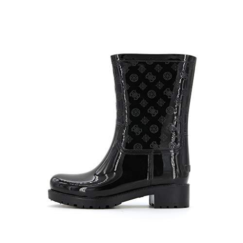 Guess Ribba Stiefel Damen Schwarz - 40 - Gummistiefel Shoes