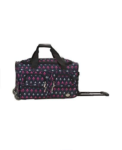 Rockland Rolling Duffel Bag, Icon, 22-Inch
