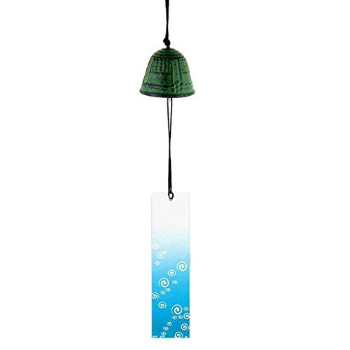 Sharplace Japanisches Furin Windspiel Tempelglocke für Zuhause, Küche, Garten, Fenster Deko - #16