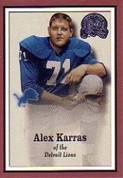 2000 Greats of the Game Football Card #73 Alex Karras