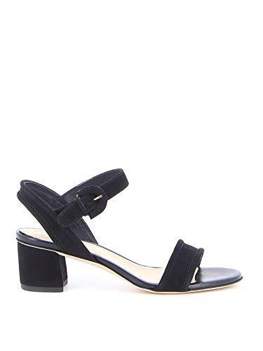 Tod's Luxury Fashion Damen XXW19C0CW70HR0B999 Schwarz Wildleder Sandalen | Frühling Sommer 20