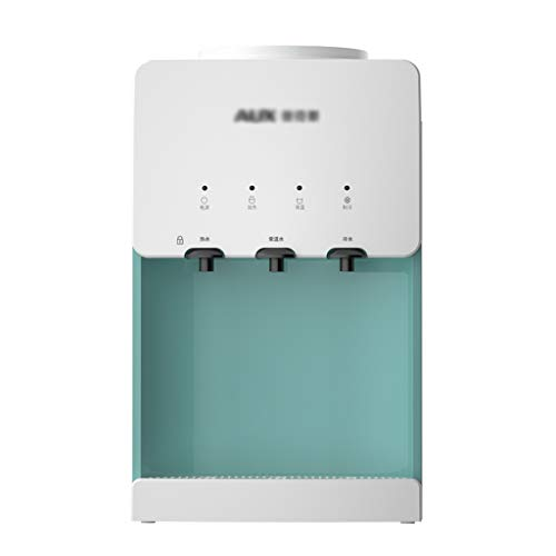 TONG Hot & Cold Water Dispensers Plumbed-in, Countertop Water Dispenser White&Green, Countertop Water Cooler 3 Water Outlet